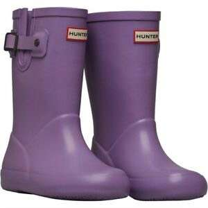 Hunter kids flat sole wellies at MandMDirect for £22.98 delivered