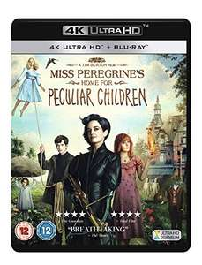 Miss Peregrine's Home For Peculiar Children 4K HDR, Dolby Atmos, Inc: Blu-Ray £9.23 @ Amazon UK Prime / £10.22 non Prime