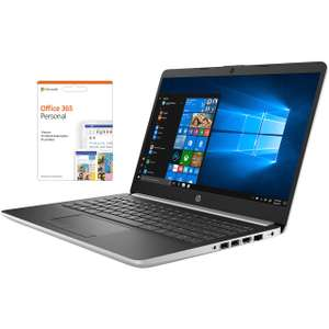 """HP 14-dk0008na 14"""" Laptop includes Office 365 Personal 1-year subscription with 1TB Cloud Storage - Natural Silver £429 @ AO.com"""