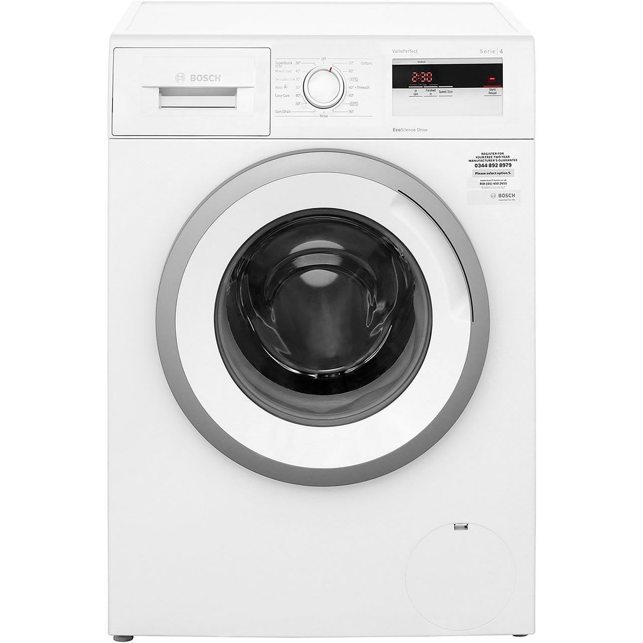 Bosch Serie 4 WAN28050GB 7Kg 1400rpm Washing Machine £339 w/ code (poss £328.53 + topcashback) @ AO.com