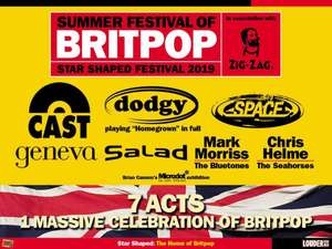 Starshaped britpop festival in Newcastle (cast dodgy space) only £3 at ShowFilmFirst