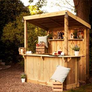 Wickes Build Your Own Garden Bar - D 1185mm / H 2400mm / W 1760mm - £250 Delivered @ Wickes - 10 Year Anti-rot Guarantee