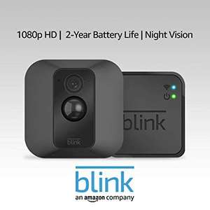 All-new Blink XT2 | Outdoor/Indoor Smart Camera with Cloud Storage, 2-Way Audio, 2-Year Battery Life | 1-Camera System at Amazon £79.99