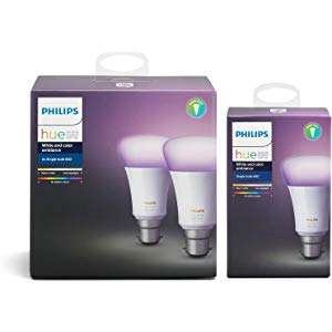 Philips Hue deals - Upto 40% off at Amazon £54.99 - £114.99 see post