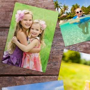 50 personalised 6'' x 4'' photo prints for £1 (+£4.99 Delivery) @ Groupon via Printerpix