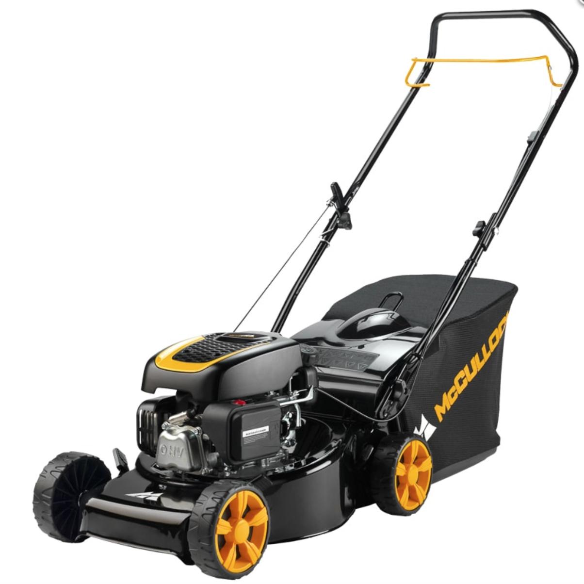 McCulloch petrol lawnmower £79 instore @ B&M Oldham