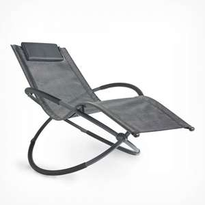 Foldable Orb Rocking Lounger £29.99 Delivered @ VonHaus