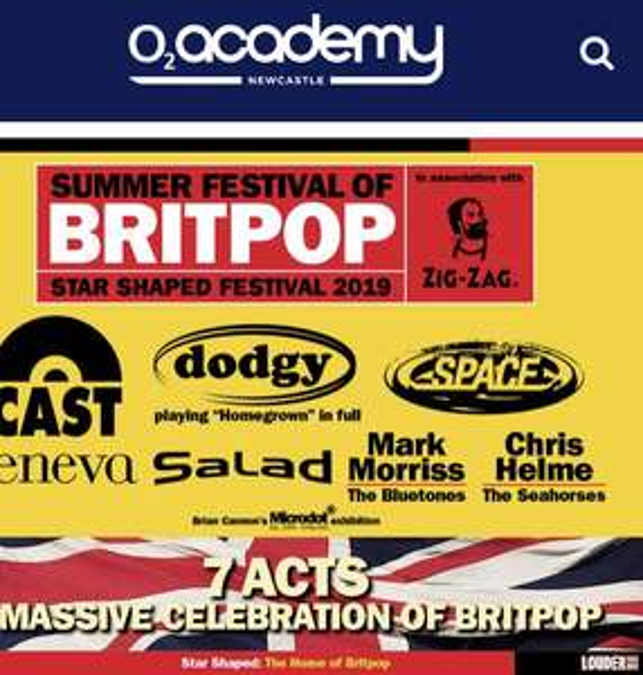 Free Tickets @ Show Film First: Star Shaped Festival 2019 BRITPOP