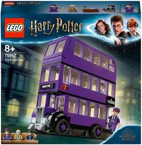 LEGO 75957 Harry Potter Knight Bus Toy, Triple-decker Collectible Set with Minifigures - £26.99 @ Amazon