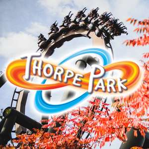 Thorpe Park - 2 Adults or 2 Children for the price of one - £55