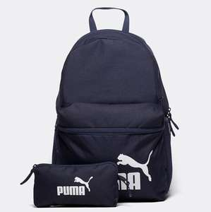 Puma Phase Backpack with Pencil Case (3 colours) £13.99  + Free Click & Collect or £1 ND Delivery @ Footasylum