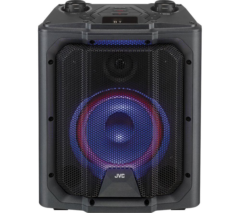 JVC MX-D519PB Portable Bluetooth Speaker - Black - £71.99 using code @ Currys PC World