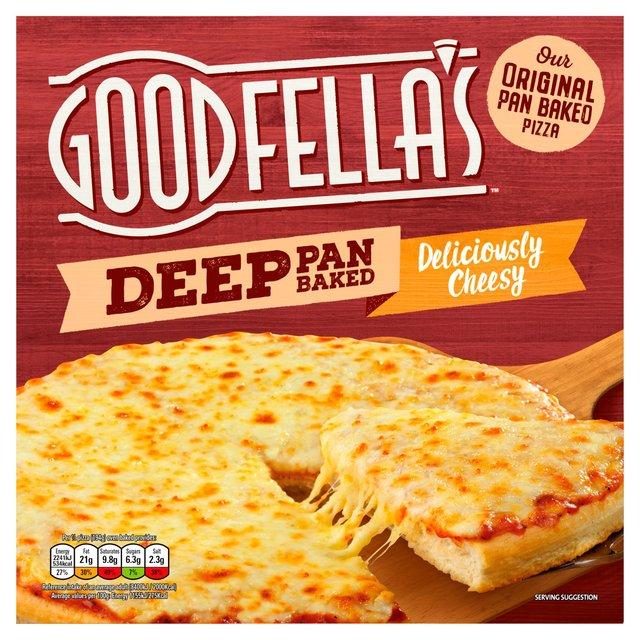 Goodfellas Deep Pan Cheese/Pepperoni/Meat Feast Pizza £1 Online/Instore Morrisons