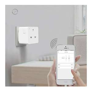 Woox Smart Plug, Works with Timer, Amazon Alexa, Google Assistant, No Hub Required - £8.99 @ Amazon Prime / +£4.49 non Prime