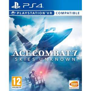 ACE COMBAT 7 Skies Unknown PS4/XBOX £24.95 at The Game Collection
