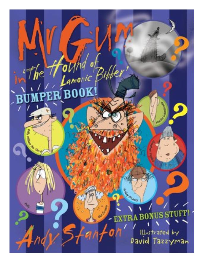 Mr Gum in 'The Hound of Lamonic Bibber' Mini Big Bumper Book rrp £9.99 now £1 Poundland Leeds