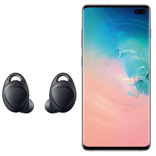 Samsung Student Offer - Galaxy S10+ 128GB + Free Gear Icon X Wireless Headphones At Basket £719.10 @ Samsung  - White / Blue / Green / Black