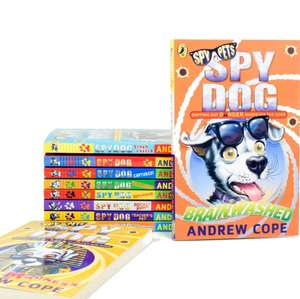 50% off the Bargains category using codes  eg Spy Dog 10 Books Set now £12.50 @ Books2Door