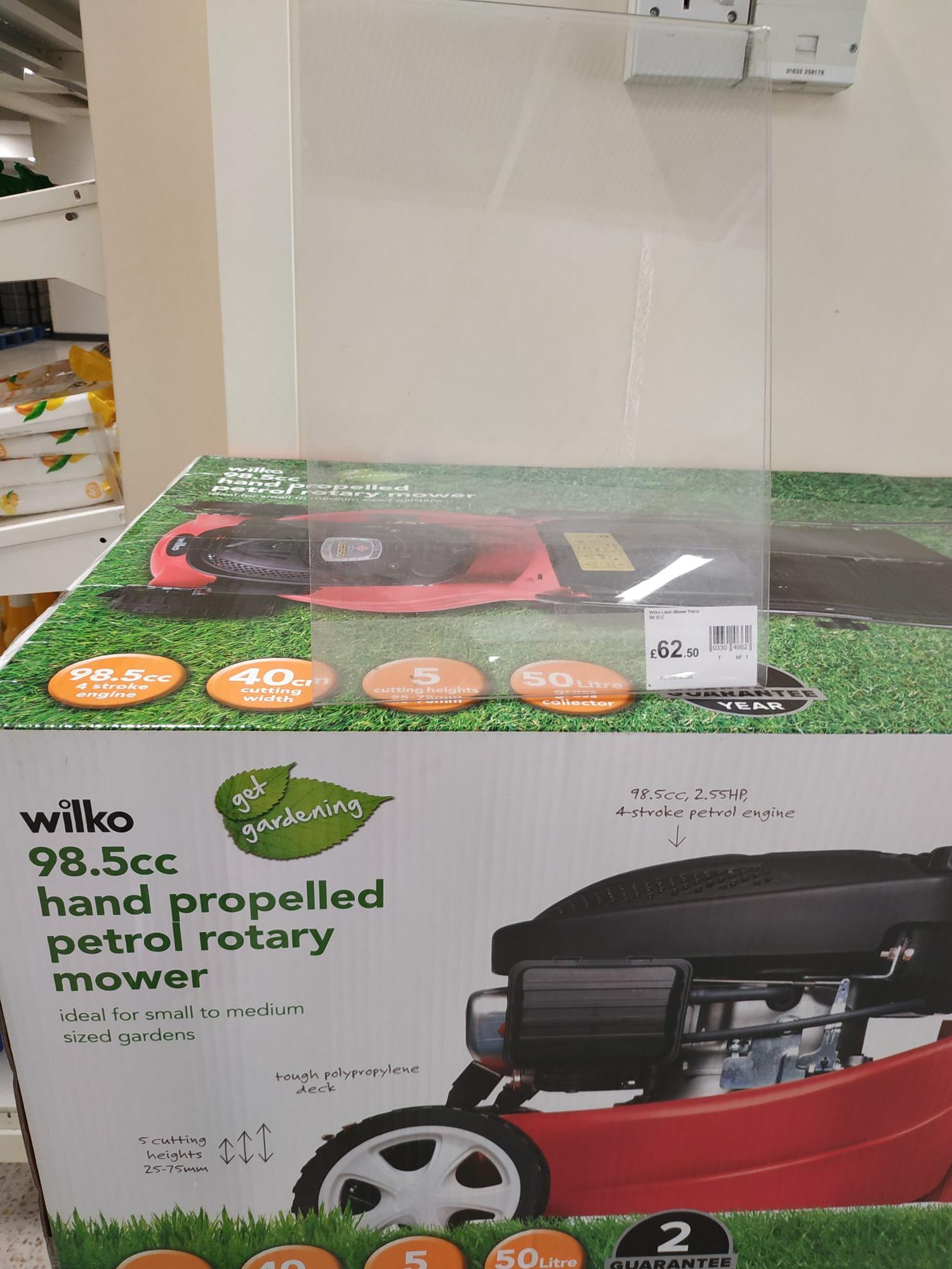 98.5cc Petrol Lawn Mower £62.50 @ Wilko in-store
