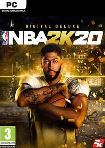 NBA 2K20 Deluxe Edition PC - Pre Order £39.99 at CDKeys