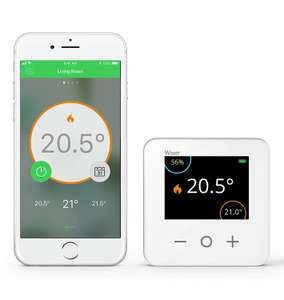 Drayton Wiser Smart Thermostat Heating and Hot Water Control Kit - £99.99 @ Amazon