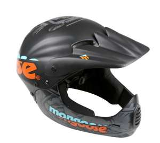 Mongoose Full Face Kids Bike Helmet £14 at Halfords