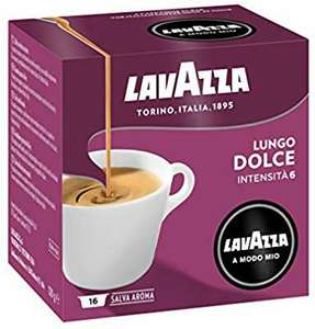 Lavazza Coffee Pods - Lungo Dolce 16 packs of 16 (256 capsules) - £36.50 @ Amazon
