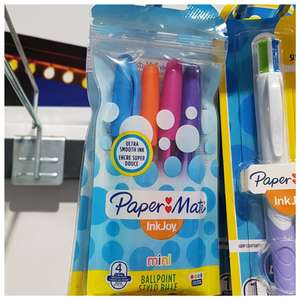 Papermate Inkjoy Mini Pens pk of 4 assorted colours- 49p @ Home Bargains