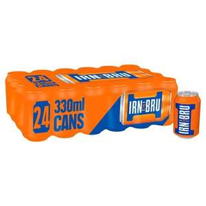 Irn Bru (Diet & Xtra included) - 24 Pack - £5 @ Morrisons instore
