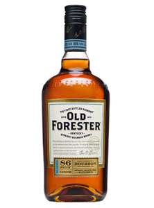 Old Forester Kentucky Straight Bourbon Whisky down to £18 at Asda.