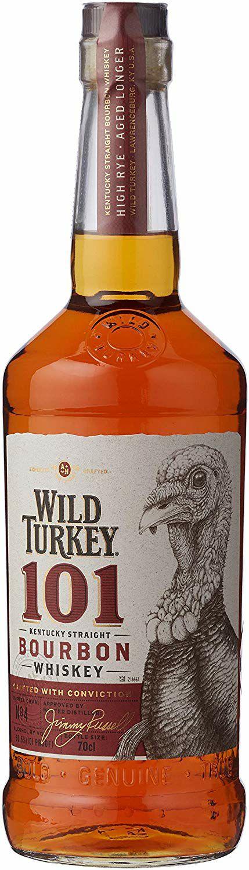 Wild Turkey 101 Bourbon Whiskey, 70cl - £25 @ Amazon