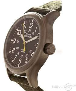 Timex Mens Expedition Quartz Watch with Textile Strap  and Indiglo Backlight.  £34.10 @ Amazon