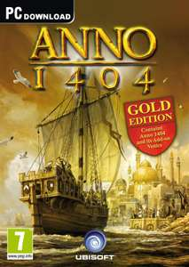 Anno 1404 - Gold Edition £2.57 @ GamersGate (Uplay)