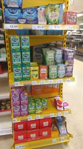 """Lots of tea from 45p, and loads of other """"ambient"""" goods reduced at Tesco Extra Salford"""