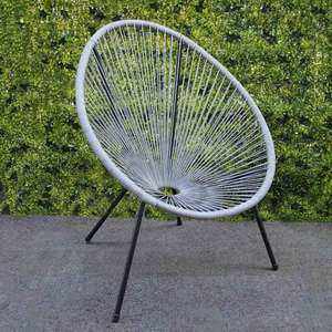 Garden String Chair - Grey £17.99 Delivered with code @ TJ Hughes