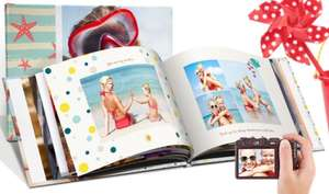 100 page A4 photo book from £12.95 plus £6.99 p&p at Printerpix / Groupon