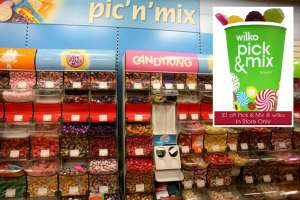 Wilko Pick & Mix £1 off cups until 29th Aug - Regular Cup £1 - Medium Cup £2 - Extra Large Cup £3 instore