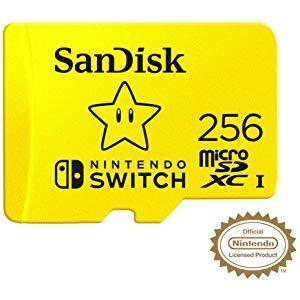Official Nintendo Switch 256GB Micro SD Card - £45.38 @ Amazon