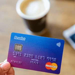 Free Standard Revolut Card + £10 signup bonus (top up required) + Fee free spending abroad  @ Revolut (New customers)