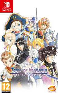 Tales Of Vesperia Definitive Edition (Nintendo Switch) £25.99 Amazon.co.uk (free delivery) or Argos collection £24.99