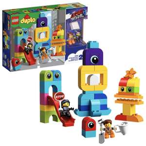 Lego sets reduced Amazon deal of the day e.g. 10895 Movie 2 Emmet and Lucy's Visitors from the DUPLO Planet Set - £14.34 (+£4.49 non Prime)