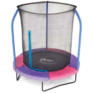 6FT Junior Plus Springsafe Trampoline and Enclosure / Reversible - £59.99 In-Store @ LIDL