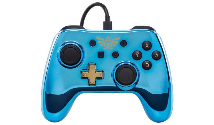 Wired Controller for Nintendo Switch -Chrome Princess Peach/Zelda £11.99, Crash Bandicoot for £13.99 (Free C&C) @ Argos