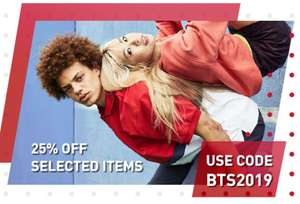 Enjoy 25% OFF selected items, plus an EXTRA 25% OFF Outlet when you use code @ Reebok Store