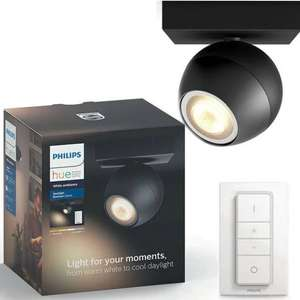 Philips Hue Buckram 5.5W 230V GU10 Spotlight - Black £32.99 @ Argos - (Free C&C) Others also available. More in OP