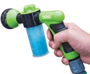 Draper Car Wash/Garden Spray Gun - £4.25 w/code @ Robert Dyas instore