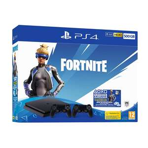 PlayStation 4 500GB Slim Fortnite Neo Versa Bundle + with 2 Controllers Approx £224 Delivered @ Amazon DE