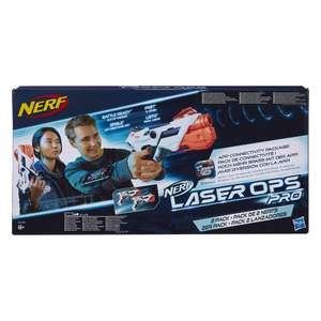Nerf E2281EU4 Laser Ops Pro Alphapoint, Multi-Colour (2 pack) £13.99 delivered with Prime ( £18.48 non-Prime) @ Amazon