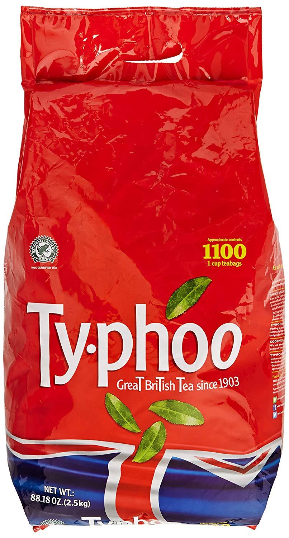 Typhoo 1100 Tea Bags £5 @ Tesco