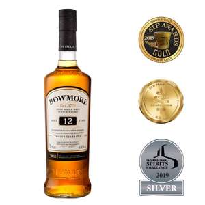 Bowmore 12 Year Old Malt Whisky 70cl - £24 @ Amazon